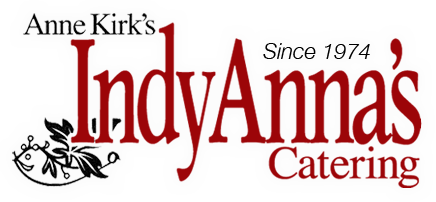 anne kirk's indyanna's catering since 1974