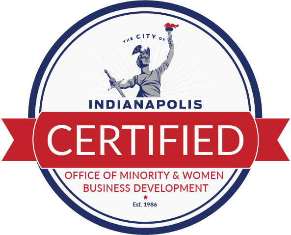Indianapolis certified office of minority and women business development est. 1986