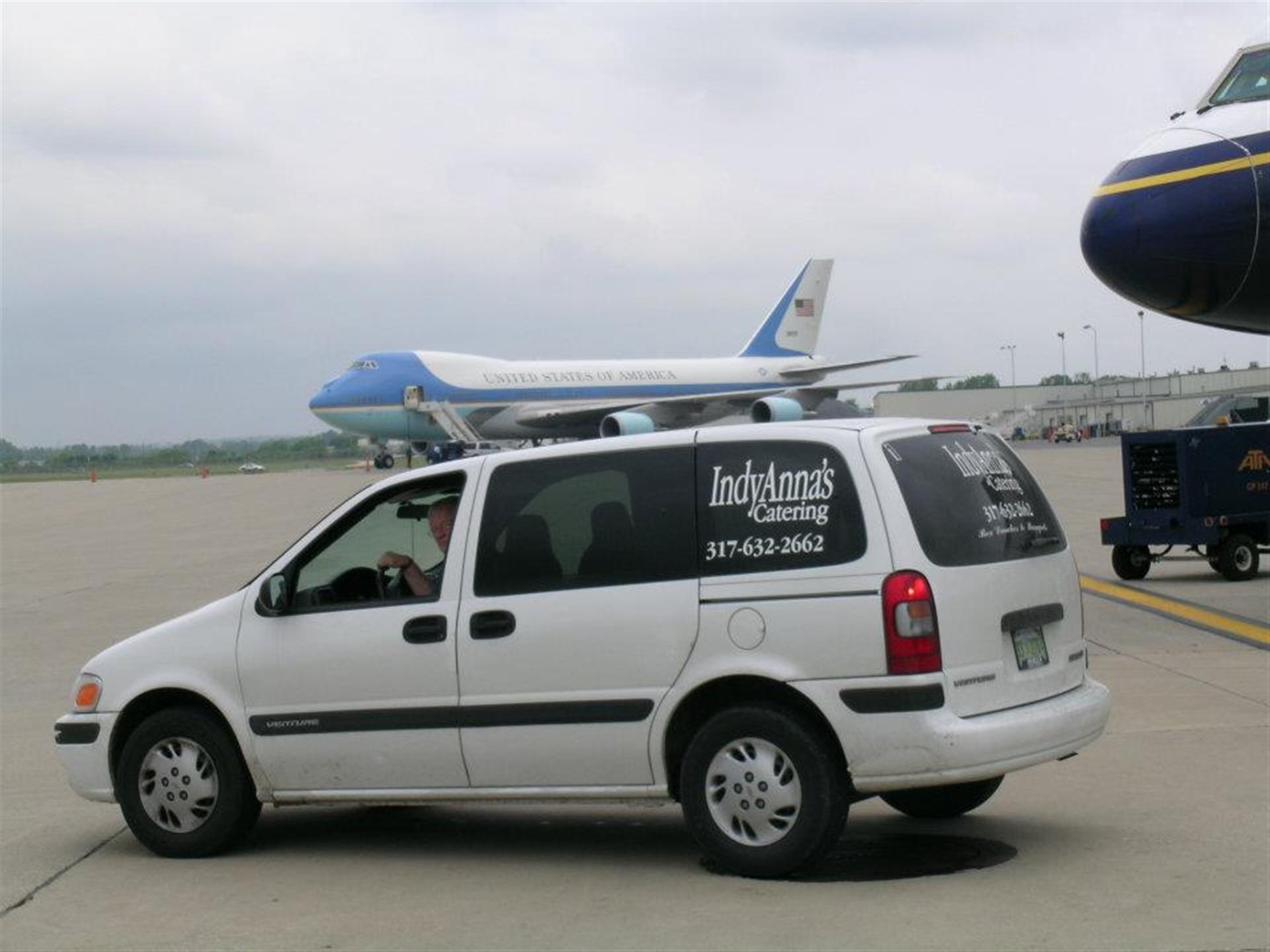 Catering for Air Force One
