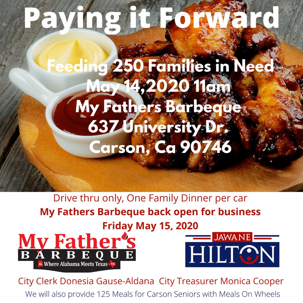 Paying it Forward - Feeding 250 Families in Need May 14, 2020 11am