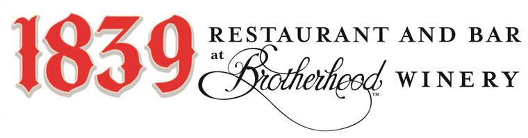 1839 Restaurant and Bar at Brotherhood Winery