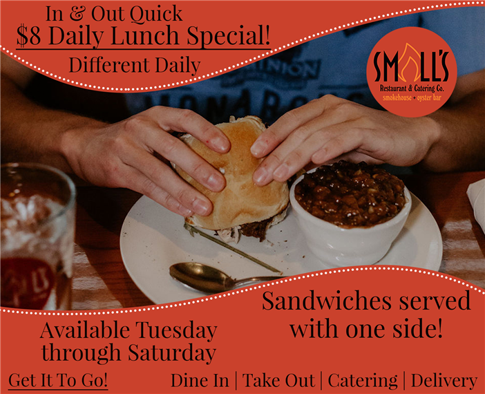 Daily $8 Lunch Specials