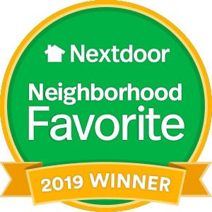 Nextdoor - Neighborhood Favorite 2019 Winner!