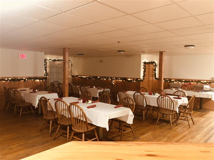 Interior shot of the restaurant