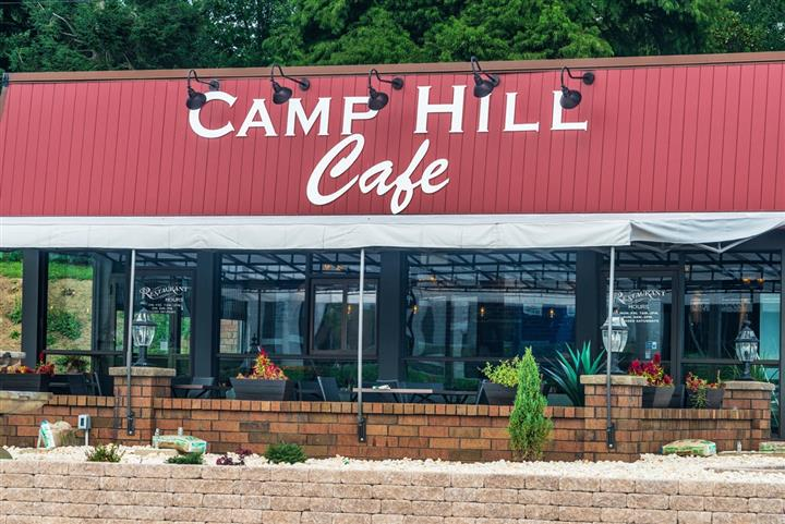 Camp Hill Cafe view from across the street