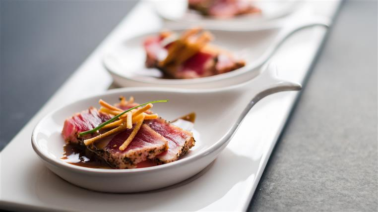 seared ahi appetizer