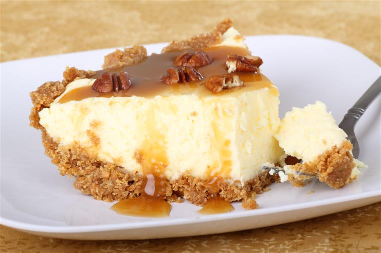 Heath Bar Crunch Cheesecake