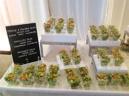 papaya and avocado salads, southwest salads, moroccan salads
