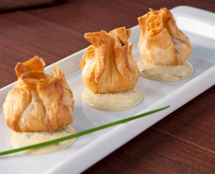 Pear & Brie Phyllo