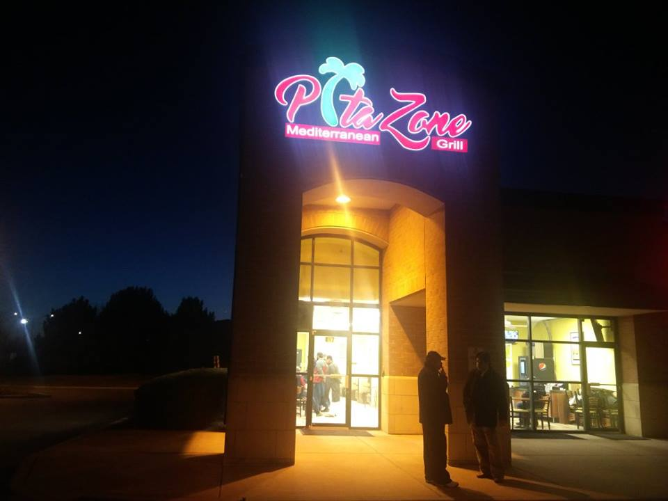 Pita Zone Store Front