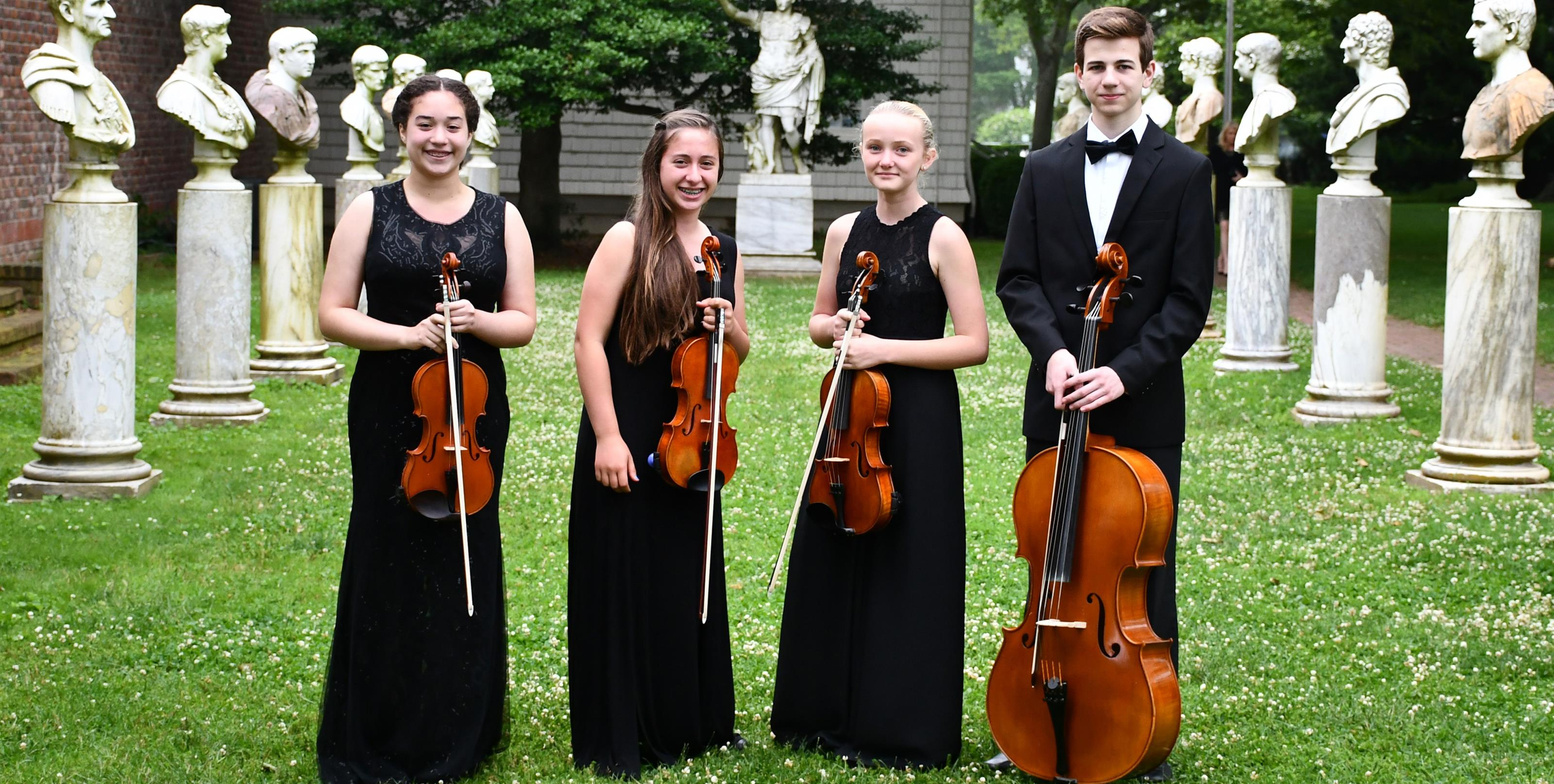 members of the east end youth quartet