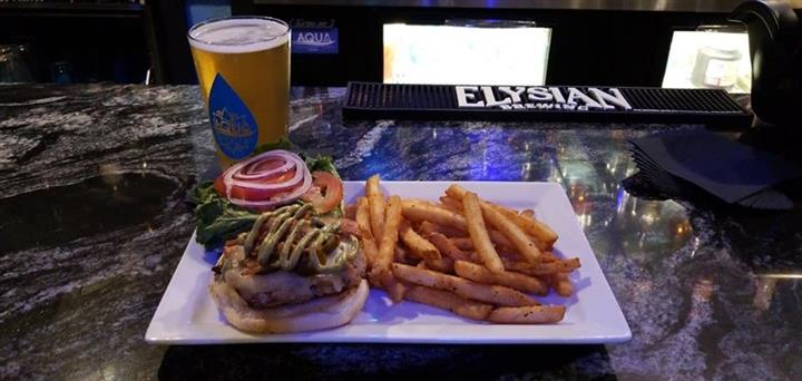 Burger,Fries & Beer