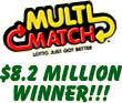 MultiMatch Lotto Winner