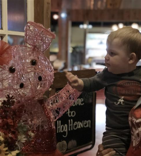 Kid and Pig