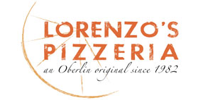 Lorenzo's Pizzeria Logo. An Oberlin original since 1982