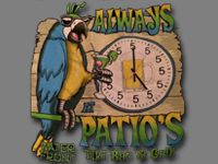 Patio's Tiki Bar & Grill Logo
