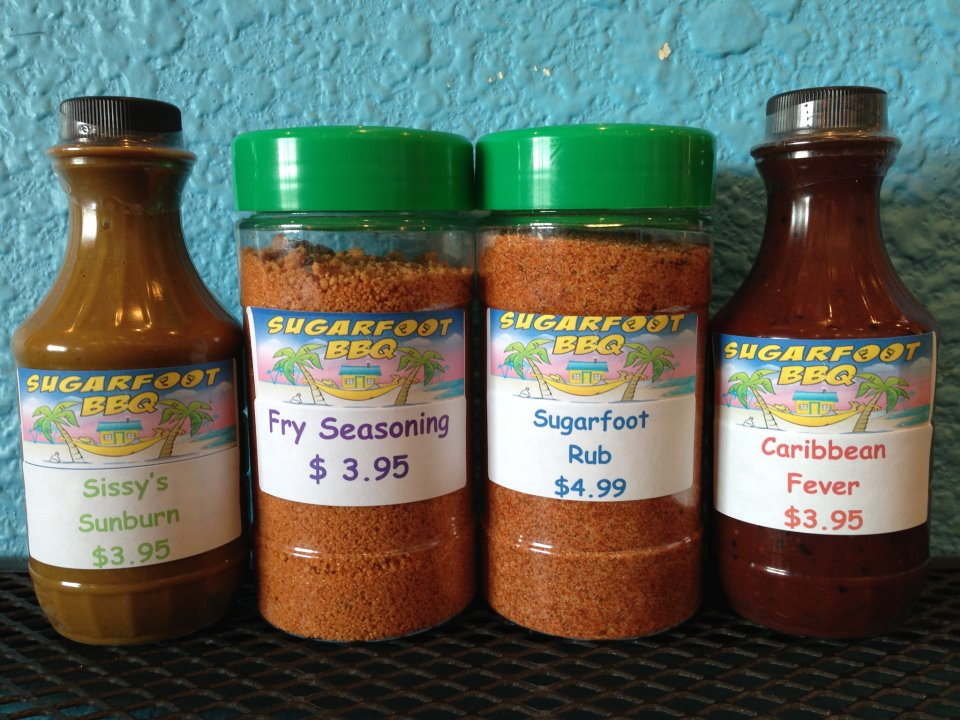 Assorted Sugarfoot BBQ seasonings