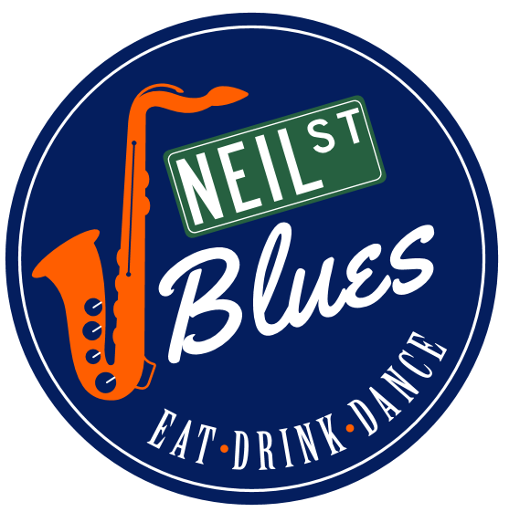 Logo Neil Street Blues Eat Drink Dance