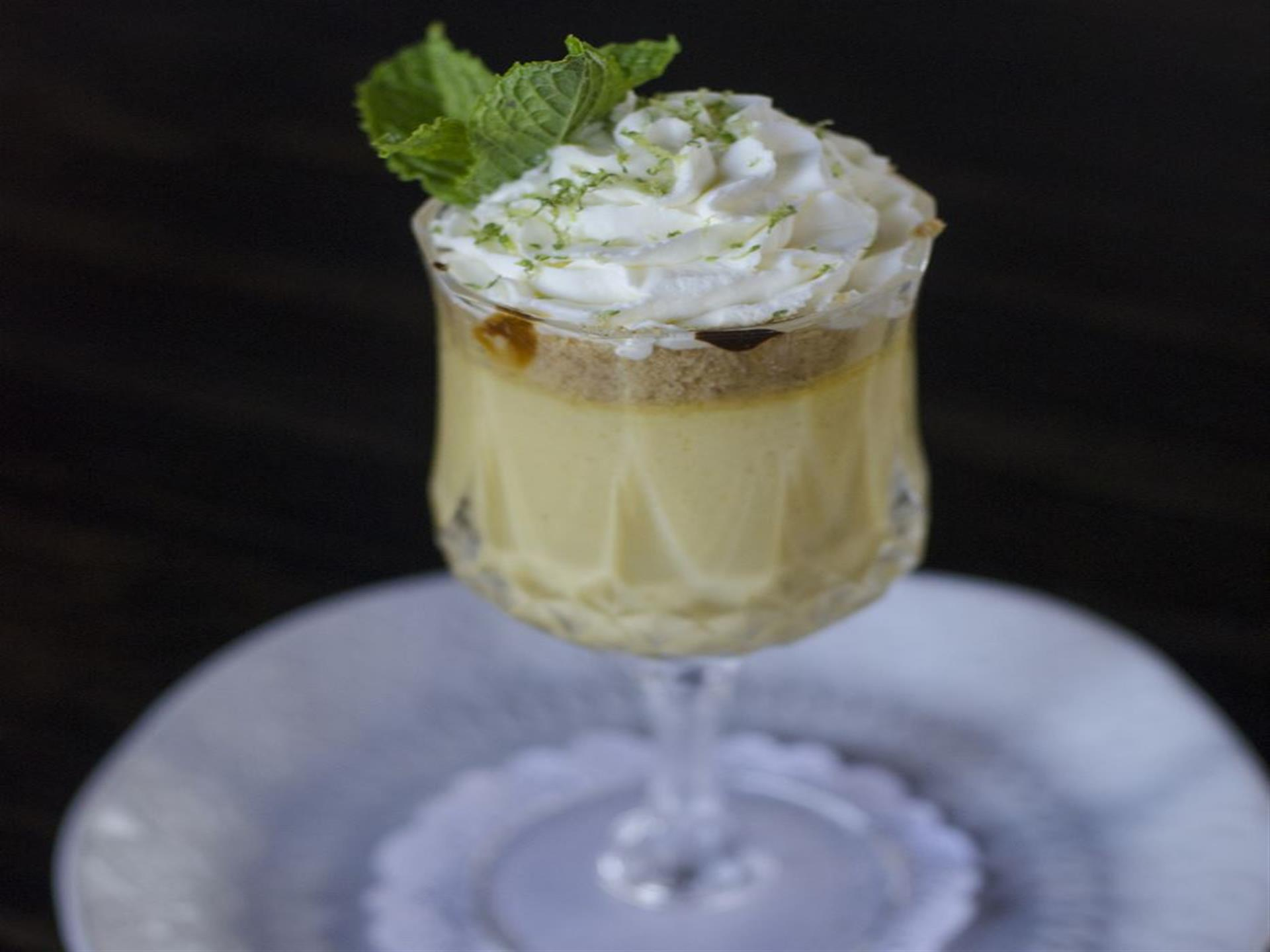 key lime pie parfait