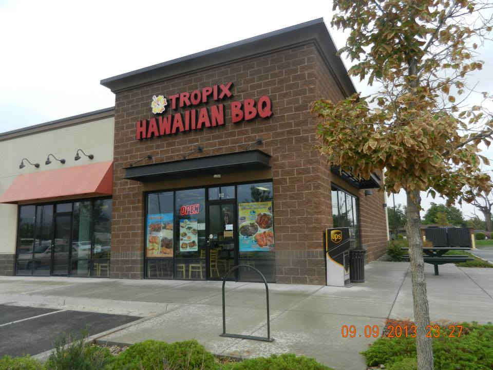 Exterior of Tropix Hawaiian BBQ