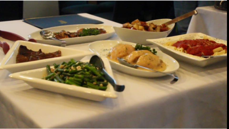 six plates of different sides to take from