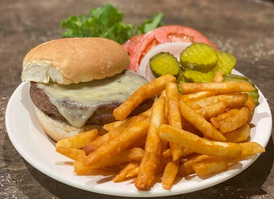 Deluxe Burger with Fries