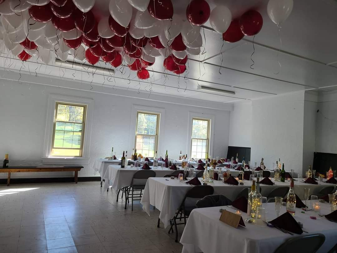 Event with balloons