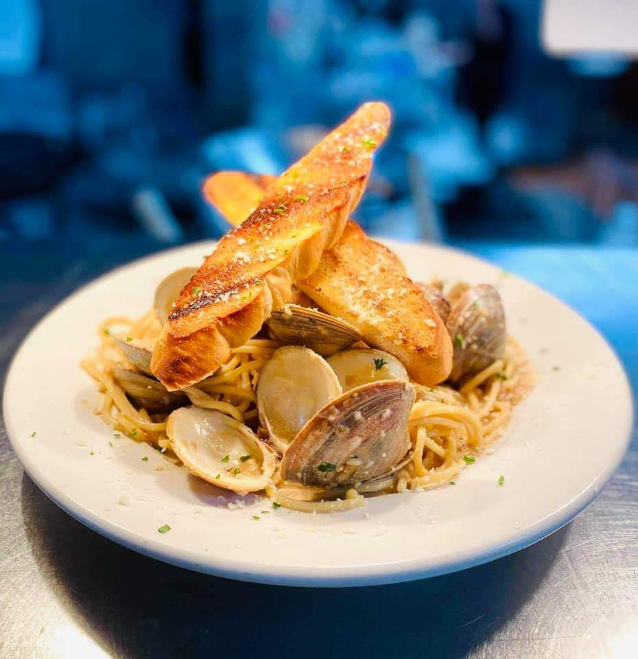 Seafood Mussels Pasta