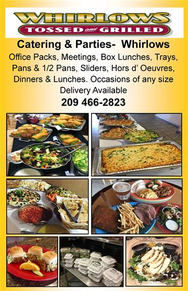 Try Whirlows Catering