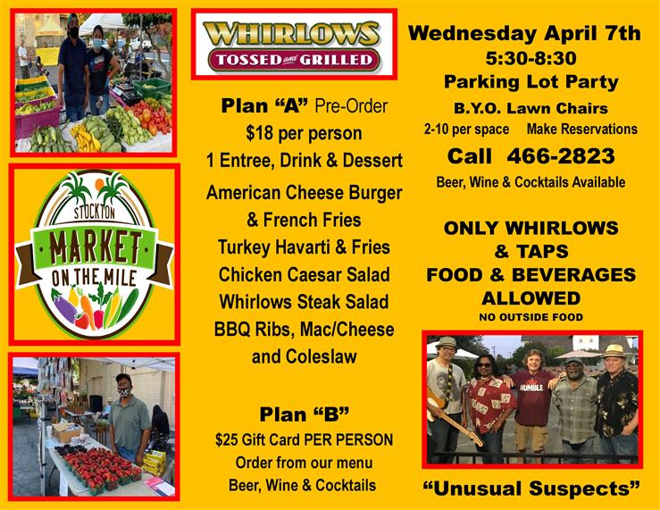 Weekly Farmers Market Starts Wednesday April, 7th 5:30-8:30 pm