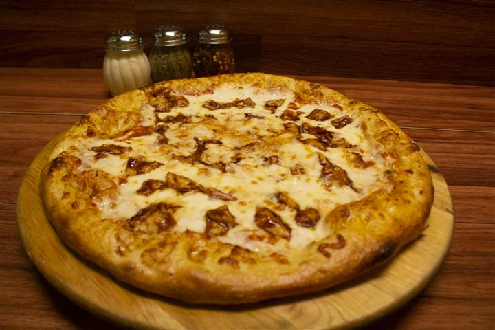 Barbecue Chicken Pizza.
