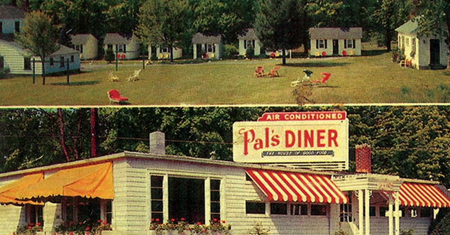 Vintage photo of Pal's Diner
