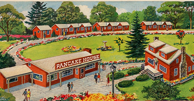 Old Drawing of Apple Valley