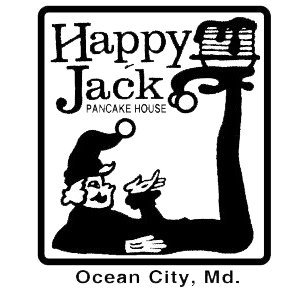 Happy Jack Pancake House. Ocean City, MD