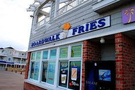 Boardwalk Fries Exterior