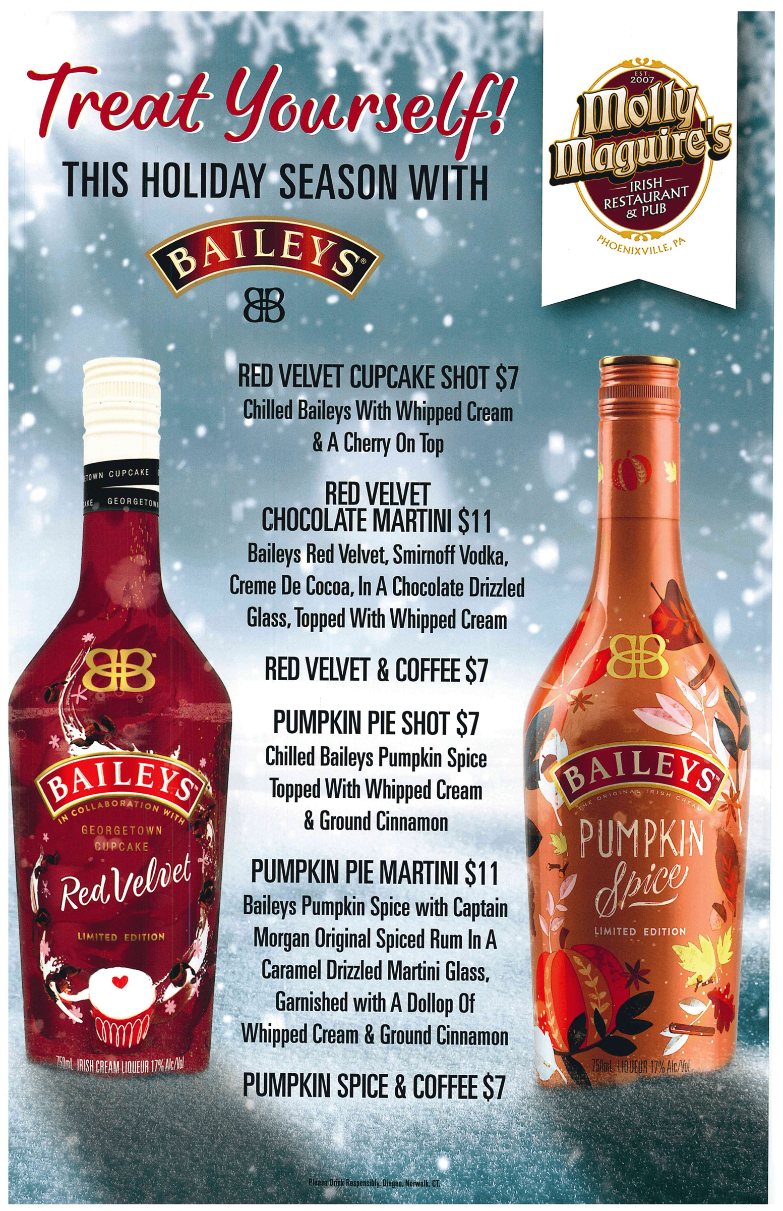 Treat Yourself this holiday season with Baileys
