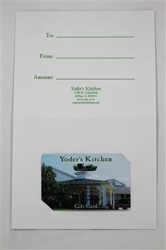 Yoder's Kitchen - Gift Cards