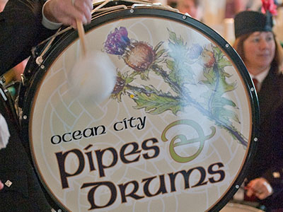 OC Pipe & Drum Band Drum