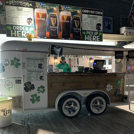 BayShore Mobile Horse Trailer Bar at Shenanigan's