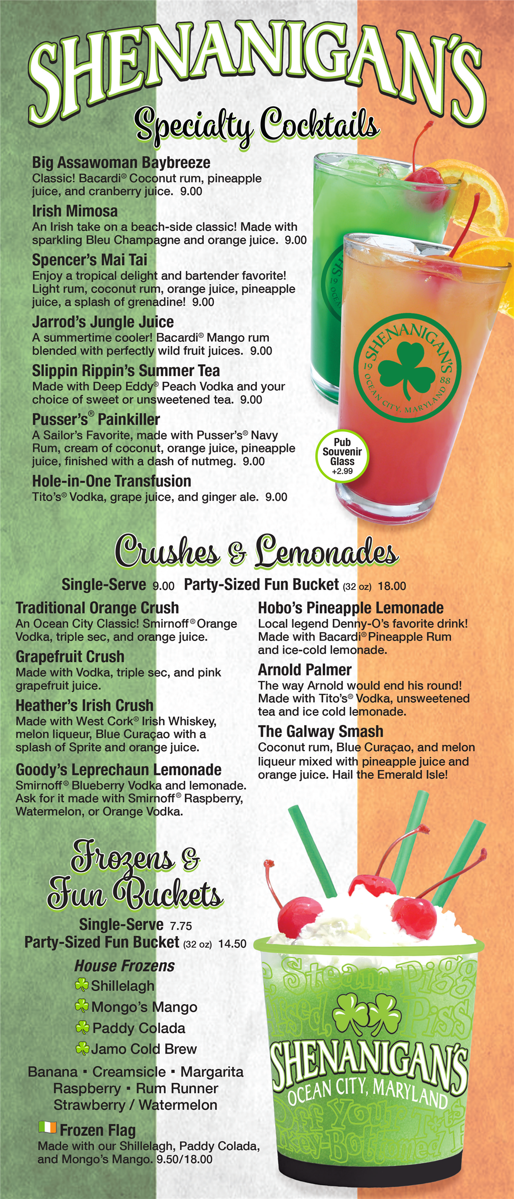 Shenanigan's Specialty Cocktails
