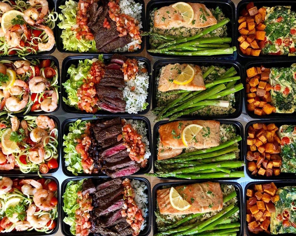 prepared meal boxes
