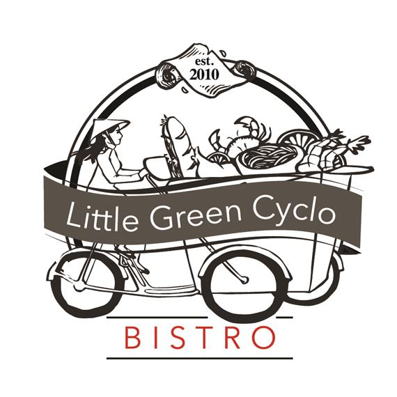 est. 2010. Little Green Cyclo Bistro.