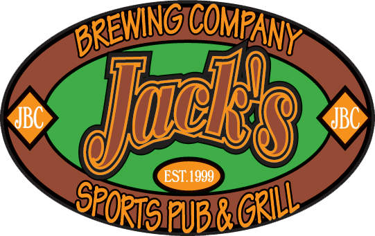 JBC. Jack's Brewing Company. EST. 1999. Sports pub & grill