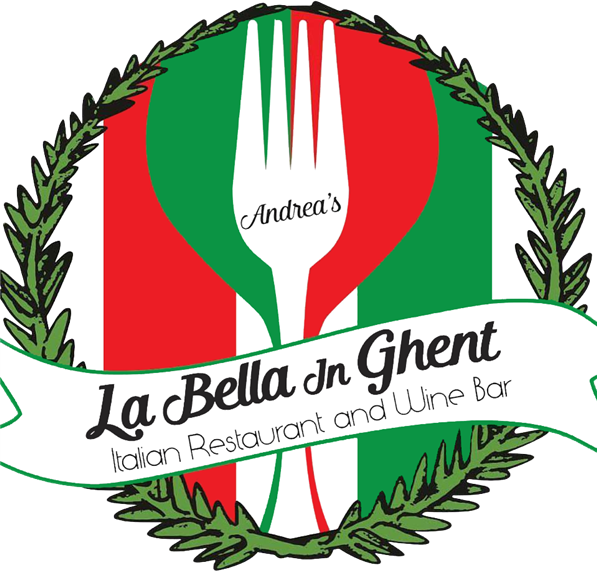 Andrea's La Bella in Ghent. Italian restaurant and wine bar