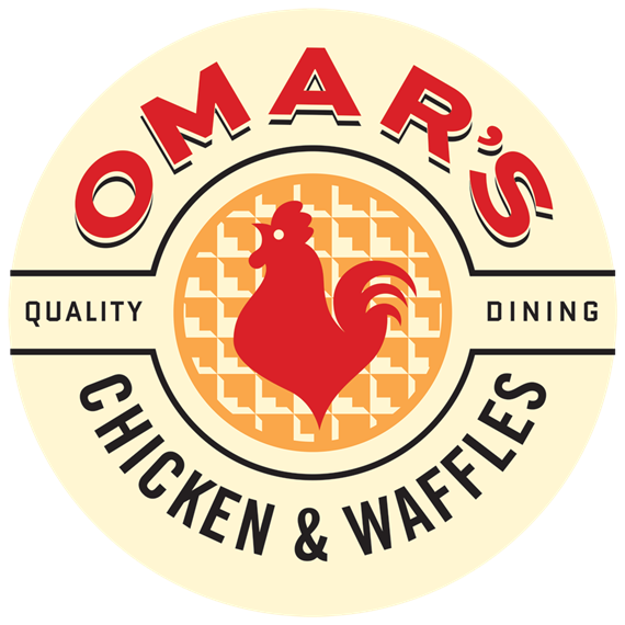 Omar's Chicken & Waffles. Quality dining