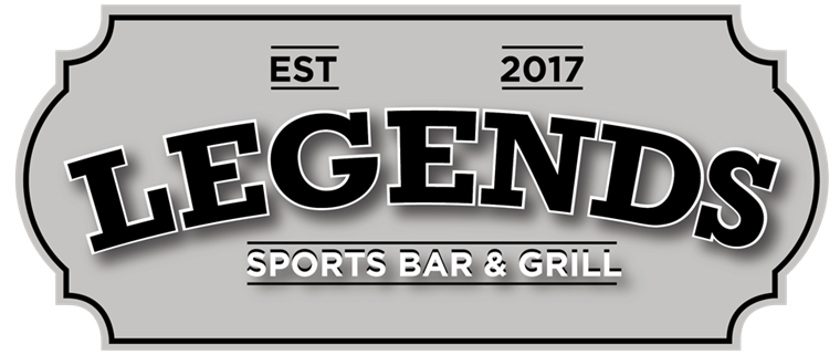 Est. 2017. Legends Sports Bar and Grill.