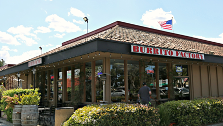 Exterior of Burrito Factory
