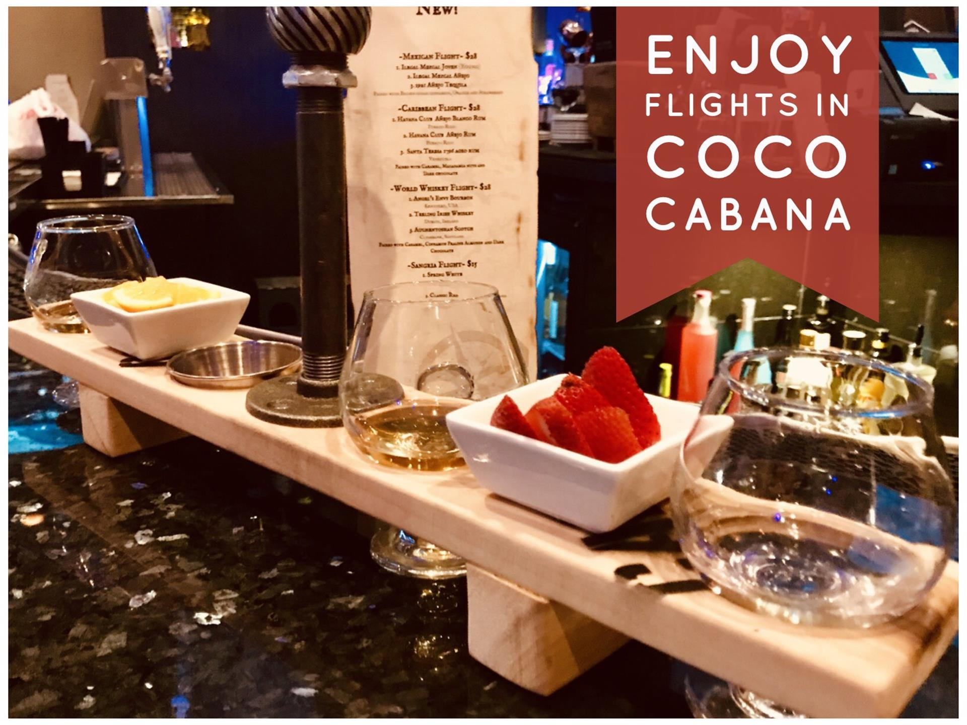 Enjoy Flights in Coco Cabana