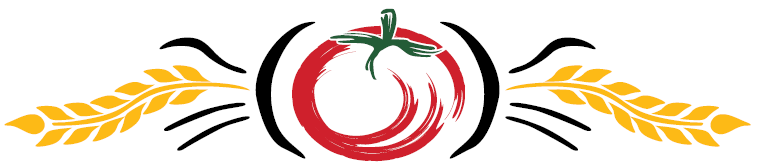 Angelo's logo graphic of a tomato and wheat.