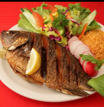 Deep-Fried Tilapia